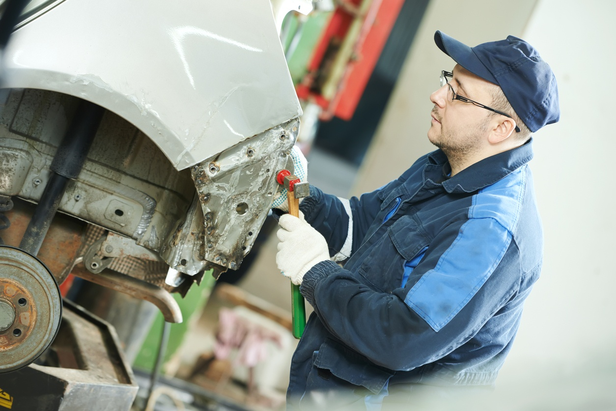 F1 reparar carroceria coche
