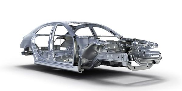 materiales carrocería automovil