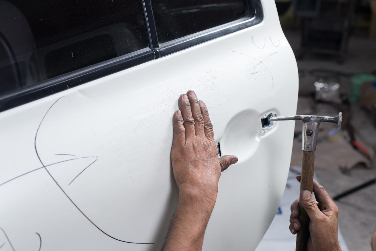 F4 reparar carroceria coche