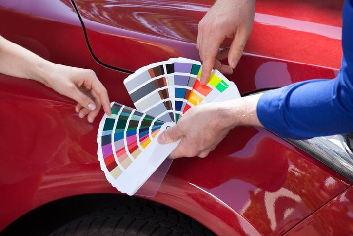 Pintura codigo colores