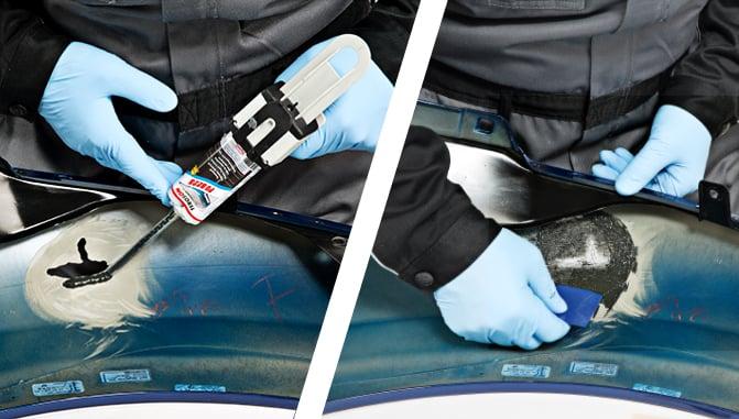 reparar plasticos exteriores coche 3