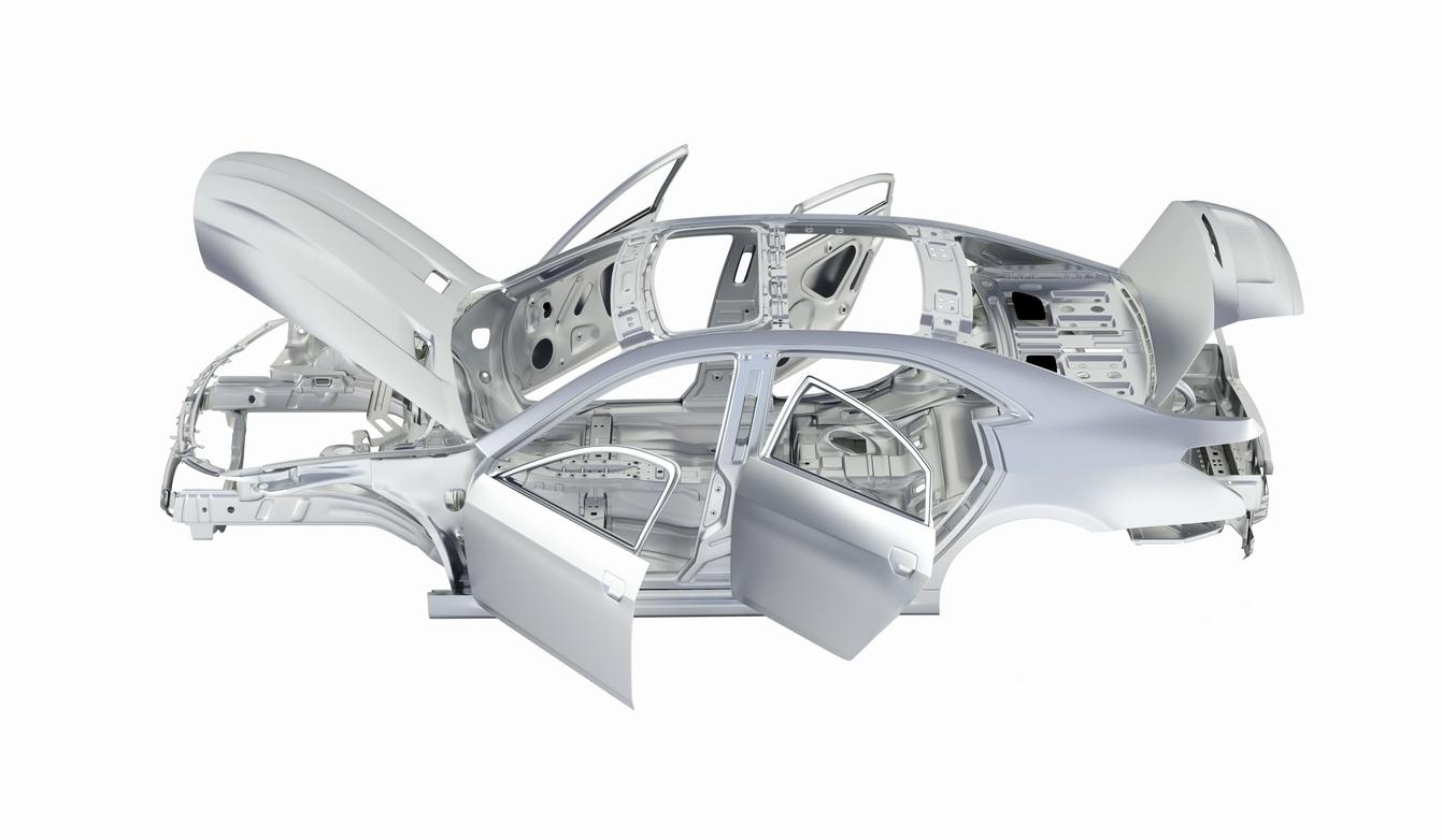 Reparación de daños en componentes de aluminio