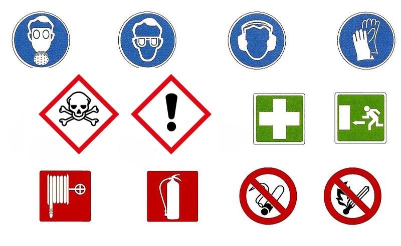 Señalizaciones y advertencias visuales necesarias en el taller