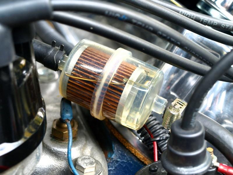 Los problemas más frecuentes que se dan en el filtro de combustible