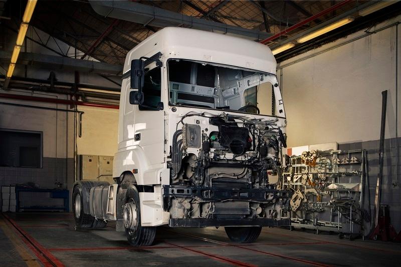 ¿Por qué el motor del camión suele ser diésel?